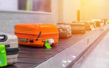 Regras sobre bagagens despachadas e de mão